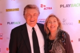 Host, Art Hindle and wife, Brooke Hindle