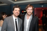 Composer Jeff Toyne and publicist Chandler Poling