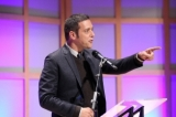 George Stroumboulopoulos accepts the inaugural Swarovski Humanitarian Award.