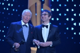 Atom Egoyan (pictured right) presented the Lifetime Achievement Award to Christopher Plummer