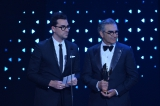Dan Levy and Eugene Levy