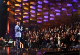 U.S. comic Dave Chappelle  presented Just For Laughs with the Icon Award