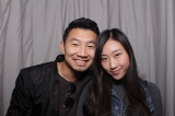 Simu Liu and Tina Jung