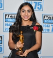 Saara Chaudry, winner of ACTRA's outstanding performance for voice award.