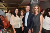 CMPA 2018 Established Producer award winners Jennifer Weiss and Simone Urdl from The Film Farm with Warren Ross and Marguerite Pigott.