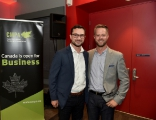 Matt Code from Wildling Pictures with the CMPA's Andrew Addison.