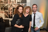 Nicola Spunt with TIFF's Brigid Tierney and her brother  actor, writer and director Jacob Tierney.