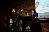Candy Palmater takes a cupcake