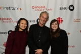 Vanessa Tam and Kelly Payne from Ontario Creates, and DOC Ontario board