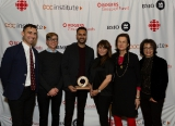DOC Institute Director Adam Shamoon, BMO Bank of Montreal's Kelly Jenkins, BMO-DOC