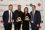 DOC Institute and DOC Ontario Director Adam Shamoon, BMO-DOC Vanguard Award winner