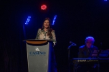 Screen Nova Scotia's new executive director Laura Mackenzie addressing the crowd at Screen Nova Scotia's fourth annual gala.