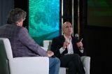 Jeffrey Katzenberg in conversation with Bell Media's Randy Lennox.