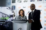 tiff co-heads joana vicente and cameron bailey kick off the event