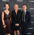 Telefilm Canada exec director Christa Dickenson with Talent Fund head Christine Magee and Talent Fund director E.J. Alon.