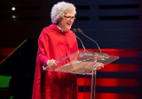 Host Gavin Crawford's Margaret Atwood impersonation during the awards.