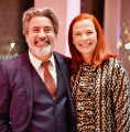 minister of canadian heritage and multiculturalism pablo rodriguez posing with cbc/radio-canada president and ceo catherine tait.
