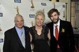 Clayton Ruby, Harriet Sachs and Rossif Sutherland at the 2013 ACTRA Awards in Toronto (photo: Jag Gundu)