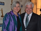 Shawn Kerwin and MPP Peter Tabuns at the 2013 ACTRA Awards in Toronto (photo: Lisa Blanchette)