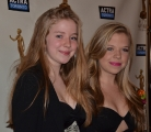 Hannah and Vivien Endicott-Douglas at 2013 ACTRA Awards in Toronto (photo: Lisa Blanchette)