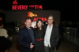ACTRA members David Ferry, Kyra Harper, Bruce Greenwood