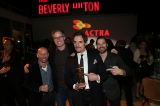 Showrunner Michael Konyves, Patrick O'Sullivan, Kim Coates and Mark Montefiore