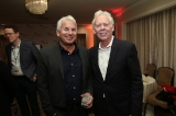 Steve McLellan, VP Business Development-USA MELS Studio with ACTRA National Executive Director Stephen Waddell.