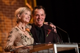 Presenters Sheila McCarthy and Stuart Hughes (George Pimentel Photography)