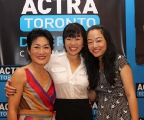 Jean Yoon, Grace Lynn Kung and Andrea Bang