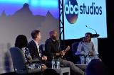 ABC Studios Patrick Moran, in coversation with American Crime showrunner John Ridley and actress Regina King