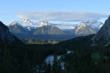 A view from the Banff Springs Hotel