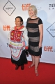 Birks Diamond Tribute to the Year's Women in Film honourees Madeline Piujuq Ivalu and Marie-Hélène Cousineau