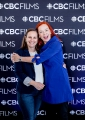 L to R: Beth Janson (CEO, Academy of Canadian Cinema & Television), Catherine Tait (President & CEO, CBC/Radio-Canada)