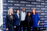 L to R: Sally Catto (General Manager, Programming, CBC), Heather Conway (Executive Vice-President, English Services, CBC), Gave Lindo (Executive Director, OTT Programming, CBC) Mehernaz Lentin (Senior Director, CBC Films), Catherine Tait (President & CEO, CBC/Radio-Canada)
