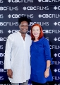 L to R: Charles Officer (Actor, Director, Writer), Catherine Tait (President & CEO, CBC/Radio-Canada)