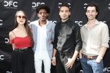 cbc actors conservatory residents emily piggford and vladimir alexis (far left and second from left) with alumni jade hassoun� and jesse aaron dwyer. photo: danilo ursini