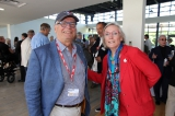 peter o'brien and the honourable carolyn bennett (mp for st. paul's and minister for indigenous and northern affairs). photo: danilo ursini