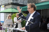 awko klymkiw (ceo, cfc) offers his remarks at the 2016 cfc annual bbq fundraiser. photo: tom sandler photography