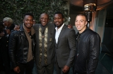 Stephan James, Louis Gossett Jr., Lyriq Bent and Matt Murray.