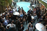 The crowd at the L.A. reception.