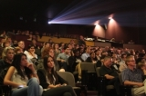 Audience members at The Bloor Hot Docs Cinema. Photo by Ki-in Wong