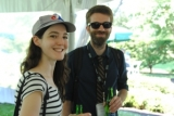 The Sunday Robbers' Alexandre LeBlanc at the WSFF Awards Picnic. Photo by Laura Krick.