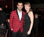 Zaib Shaikh and Kirstine Stewart, Executive Vice President, English Services, CBC