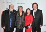 (L-R) Salah Bachir, Jackie Richardson, Pat DiBratto and Slawko Klymkiw at the CFC Gala.
