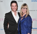 Yannick Bisson and Christina Jennings, Chairman & CEO, Shaftesbury Films