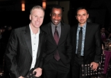 Gerry Dee, Clement Virgo and Damon D'Oliveira at the CFC Gala