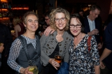 Independent Production Fund's Andra Sheffer, CMPA's Marguerite Pigott and guest.