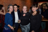 Telefilm's Christa Dickenson, City of Toronto film sector development officer Magali Simard, FilmOntario's Cynthia Lynch, and ACTRA's Taisa Dekker.