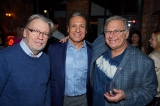 DGC's Dave Forget,  CMPA board members Vince Commisso (9 Story Media Group) and Ira Levy (Breakthrough Entertainment).