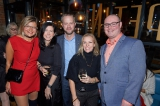 Julia Barrett, Lark Productions and CMPA board member Erin Haskett, CMPA's Andrew Addison, ACCT's Karen Bruce, and CMPA's Nicholas Mills.